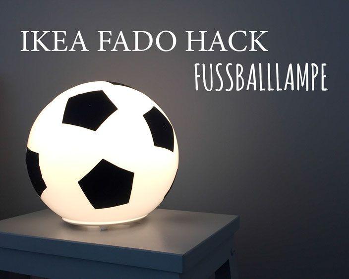 Fussballzimmer - 3 IKEA HACKS www.limmaland.com