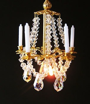 Bindelsornaments Make Your Own Miniature Crystal Chandelier
