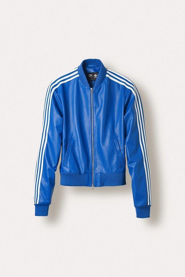 Veste bleu adidas homme
