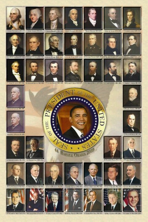 Image gallery all 50 presidents for Pictures of all presidents of the united states in order