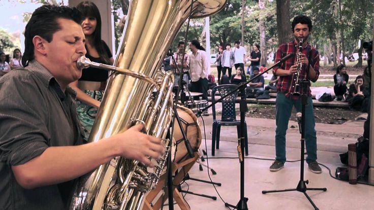 La Guaneña - Háblame de veinte mil manerasEs un grupo conformado por piano, babybass, tuba, clarinete, percusiones y voces, que se interesa en recurrir a músicas colombianas nacidas de una pluralidad de historias y contextos; sonidos que se arraigan a sus antepasados, pero mutan. Somos descendientes de seres mezclados, que se adaptaron a las circunstancias del contexto Colombiano