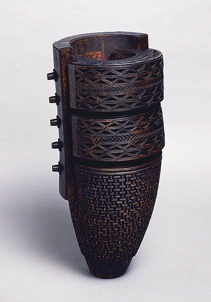 Tanija & Graham Carr leather sculpture