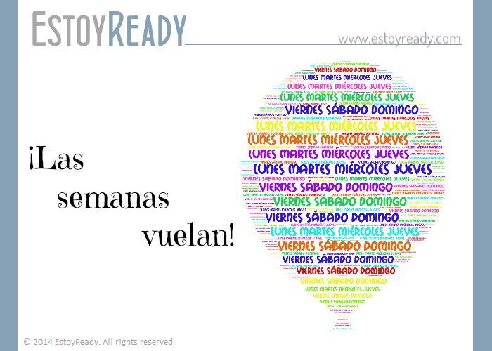 Español - Los días de la semana