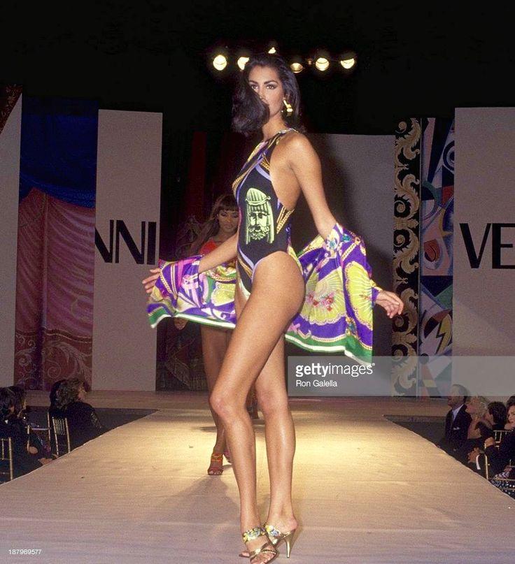 Yasmeen for Gianni Versace Runway 90's