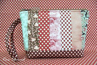 Moda Bake Shop: Strippy Charm Pouch