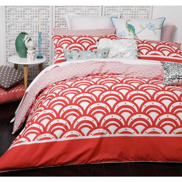 Logan Amp Mason Zen Coral Quilt Cover Set Refurnishing