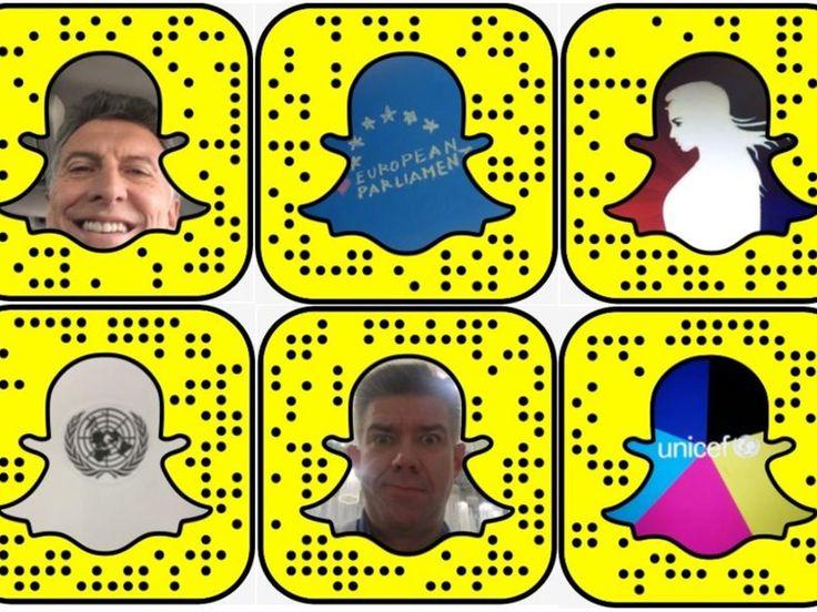 Les leaders mondiaux sur Snapchat