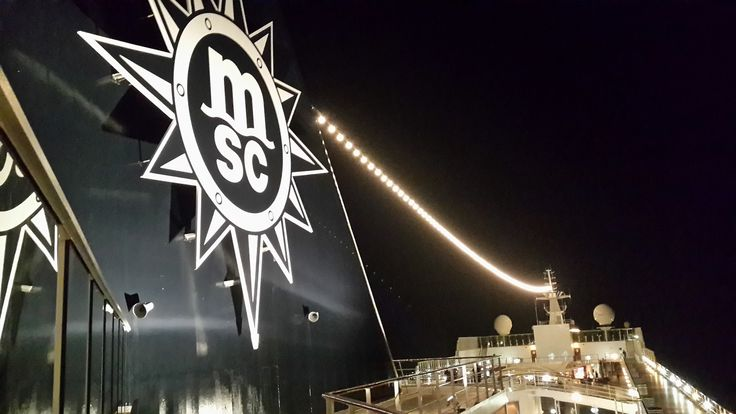 Cruise Ship Funnel Fun - MSC Sinfonia
