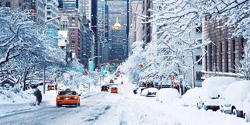 Hiver a New York ❄️