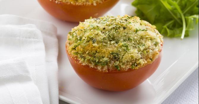 Recette de Tomates minute au four en croûte craquante. Facile et rapide à réaliser, goûteuse et diététique. Ingrédients, préparation et recettes associées.