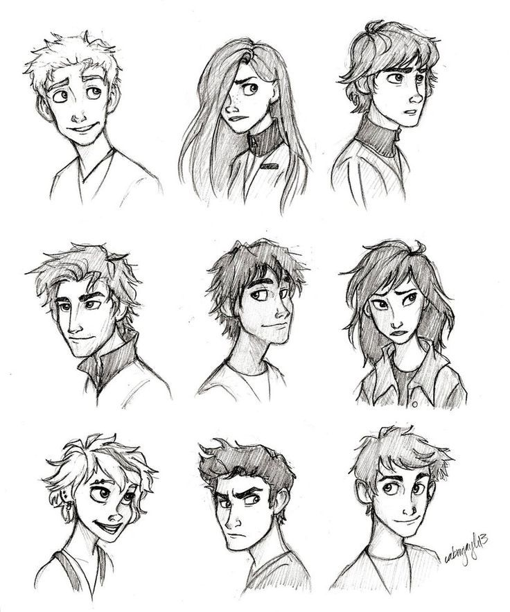 How To Draw Realistic Hair Male