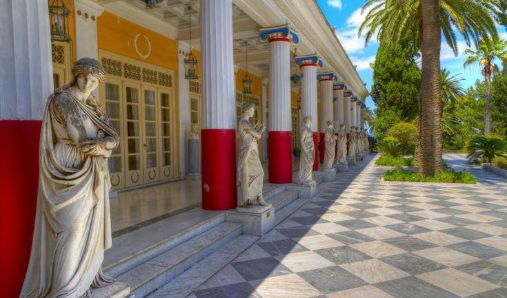 Corfu: Achillion Palace