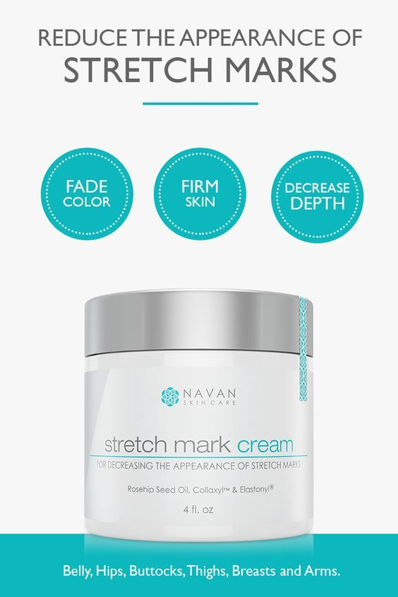 Decrease the appearance, length and depth of stretch marks. Our Stretch Mark Reducing Cream is formulated to be an effective & safe treatment for diminishing the appearance of stretch marks on the belly, hips, buttocks, thighs, breasts and arms.