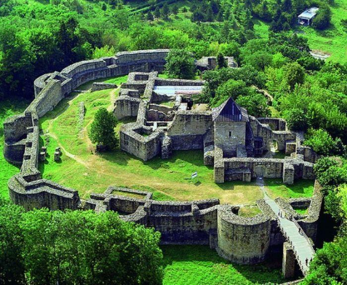 Throne Castle Of Suceava, Romania