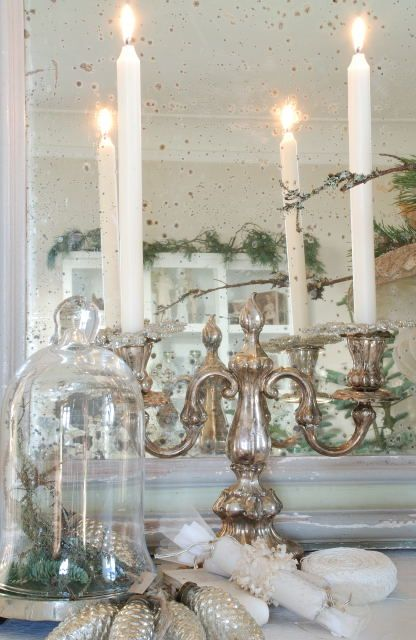Antique Silver Candelabra similar to the one on our kitchen table just bought it a week ago.