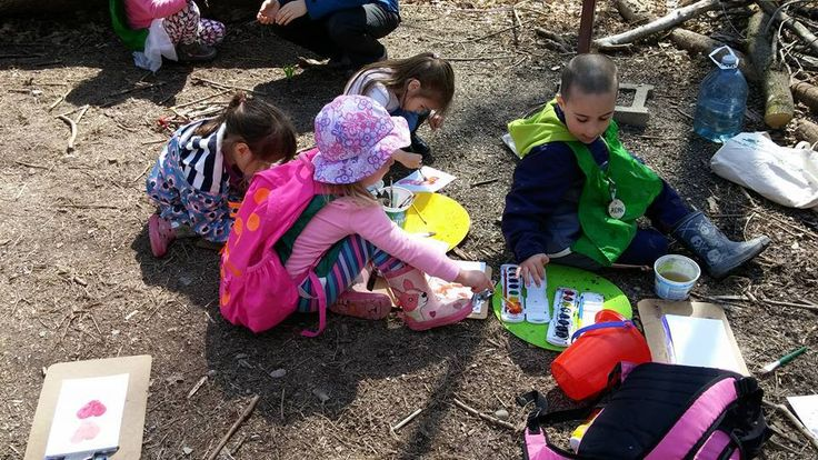 A day at forest school (May 2016)