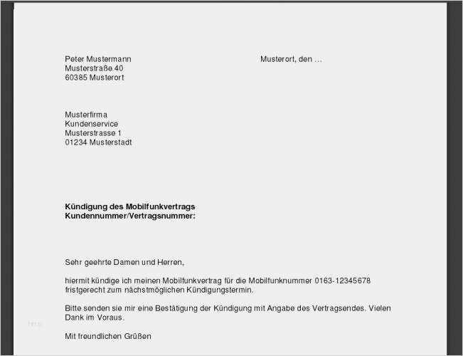 Telekom Online Kundigen Geprufte Vorlage