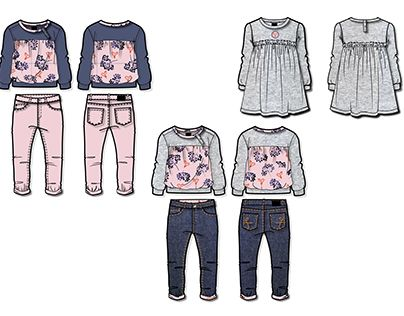 """Check out new work on my @Behance portfolio: """"Boy's & Girl's collection"""" http://be.net/gallery/53939953/Boys-Girls-collection"""