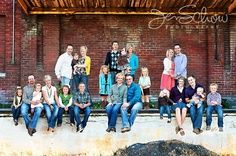 extended family photo shoot ideas | Poses - Large Groups