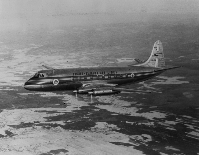 Vickers 757 Viscount  (CASM-12157)