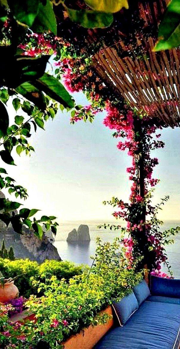 Capri, Itália.