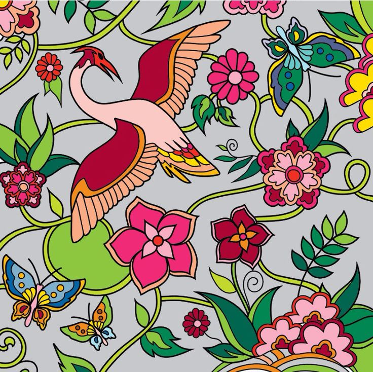 flora and fauna #colorfy