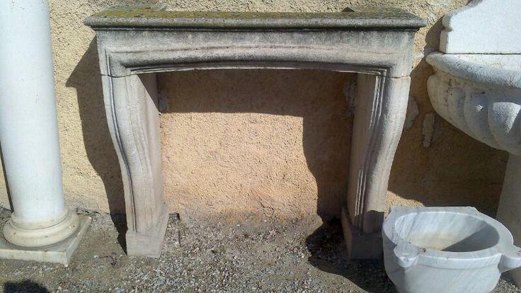 Chimenea de piedra de arenisca solo en - Chimenea de piedra ...