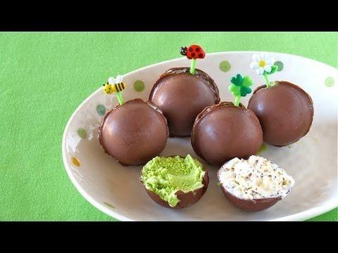 Ice Cream Pops (Ice Cream Bonbons) ピノ風チョコアイス レシピ - OCHIKERON - CREATE EA...