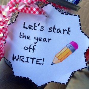 FREE back to school teachers gift printables!