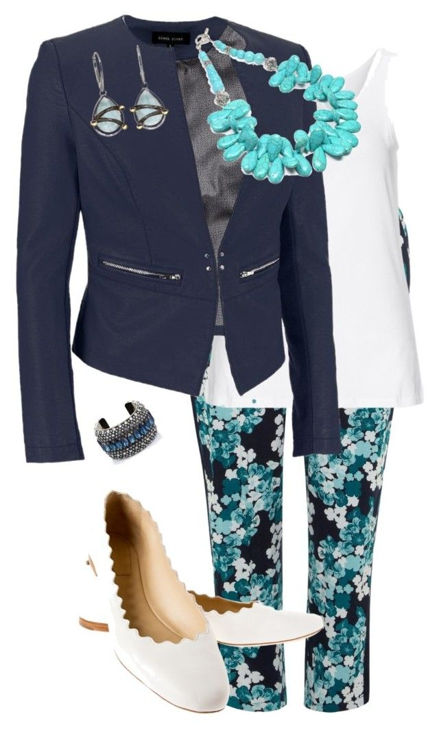 Work ready by dani-ottinger on Polyvore featuring polyvore, fashion, style, Zhenzi, Black Rivet, Evans, Chloé and Lanvin