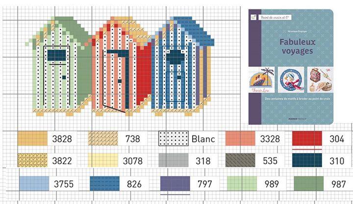 272 best images about point de croix grilles gratuites free pattern cross stitch on pinterest - Veronique enginger grille gratuite ...