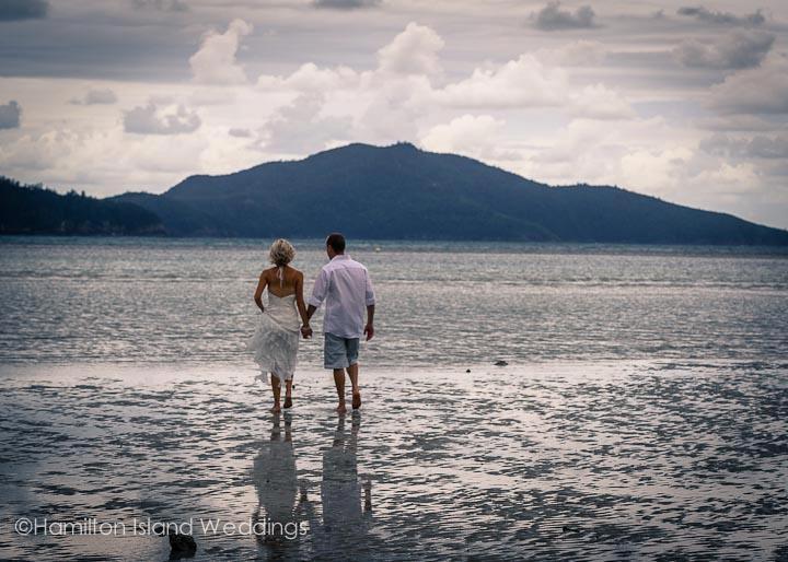 Hamilton Island Wedding Walking On Water, #Australia, #Hamiltonisland, #paradise, #island