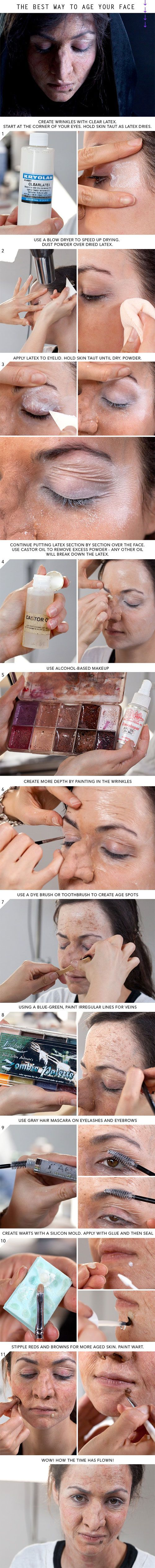 15-Step-By-Step-Halloween-Make-Up-Tutorials-For-Beginners-Learners-2014-16