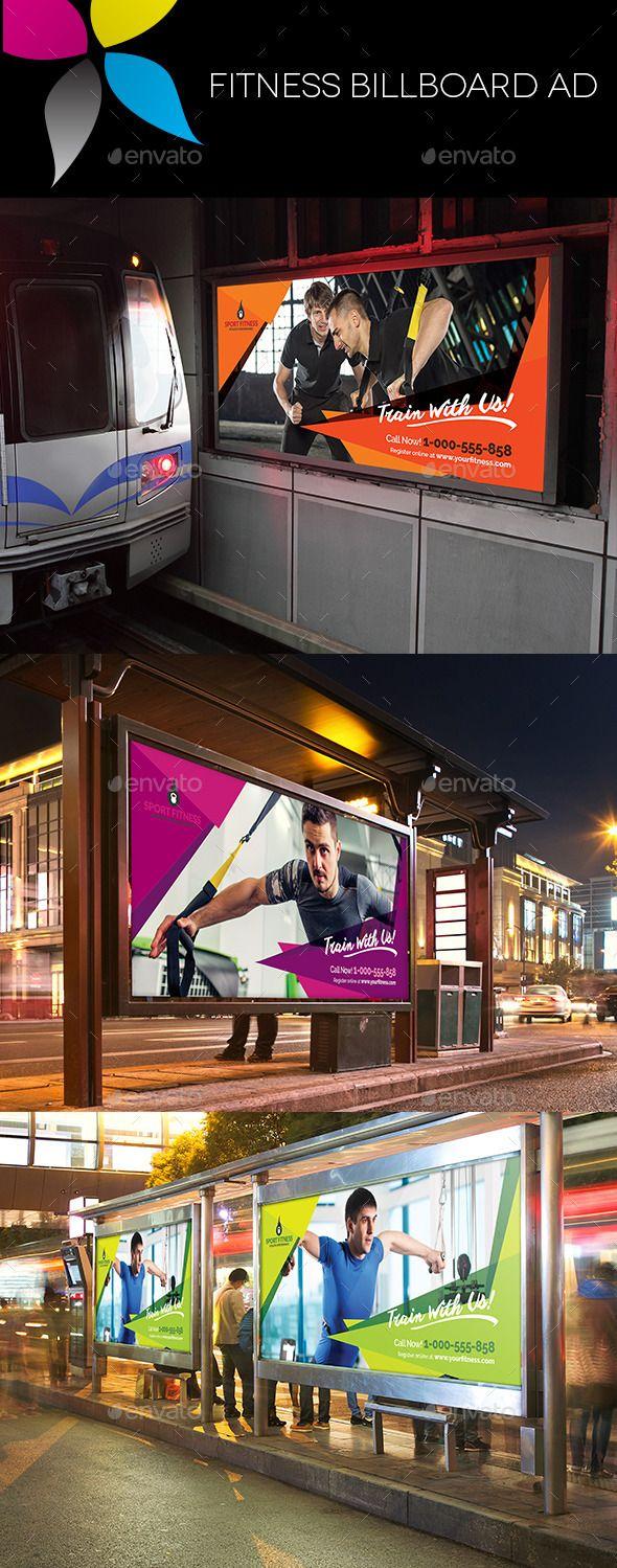 Fitness Billboard AD