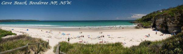 Situated in the jointly Aboriginal-managed Booderee National Park - a 3hr drive south of Sydney - Caves Beach campsite is basic, with toilets, BBQs and cold-water showers available.
