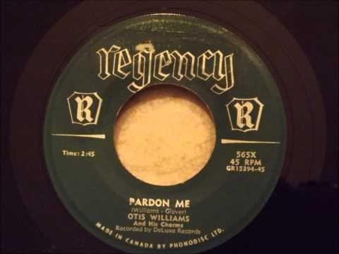 Otis Williams and His Charms - Pardon Me - Beautiful Doo Wop - YouTube