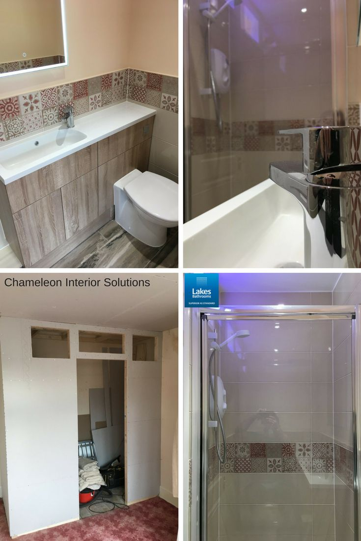 Our latest #reallakesbathroom by Chameleon Interior Solutions (https://www.facebook.com/chameleoninteriorsolutions/) featuring the Framed Pivot #Shower Door, one of the simplest solutions we offer. The practical pivoting door means effortless showering and clean, uncluttered looks. Perfect for a small additional en-suite like this.