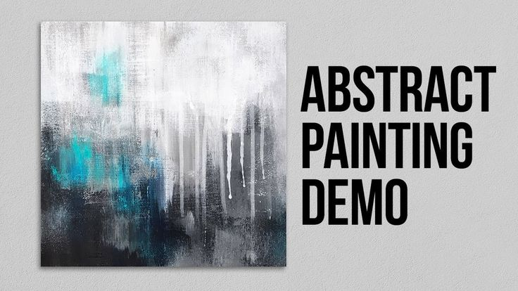 Demo of abstract painting