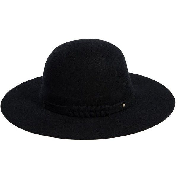 Siggi Ladies 100% Wool Felt Top Hat Winter Fedora Party Hats for Women... (£23) ❤ liked on Polyvore featuring accessories, hats, party hat, wool fedora hat, wool hat, wool top hat and wool felt fedora