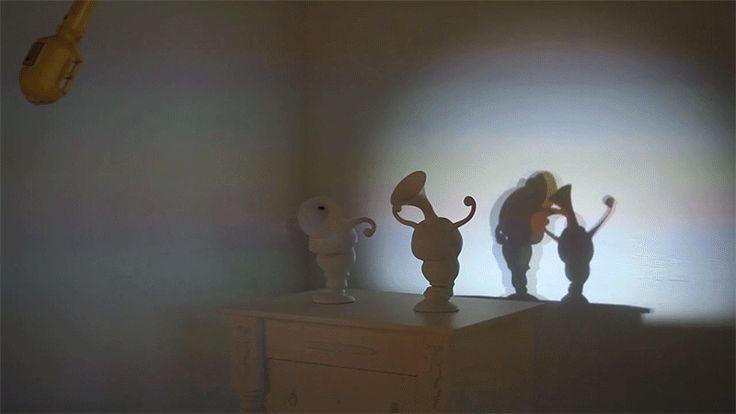 Dancing Shadow Sculptures