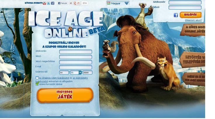 """Végre a Jégkorszak mozifilm most online játék verzióban is! Az első héten majdnem minden helyszínt megtekintettem, tényleg a film helyszínei :) ráadásul most van egy """"Vándorló kontinens"""" rész ahol még nem járt senki sem... #Online #games http://hu.bigpoint.com"""