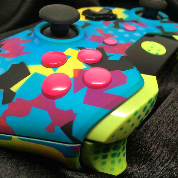 Custom XBox One Controller 1987 Camo Call Of Duty Ghosts