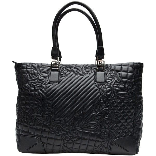 VERSACE Vanitas quilted tote ($2,320) ❤ liked on Polyvore