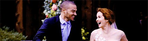Pin for Later: 22 Grey's Anatomy Moments That Give Hope For Jackson and April's Reconciliation . . . And They Totally Elope and They're the 2 Happiest Clams