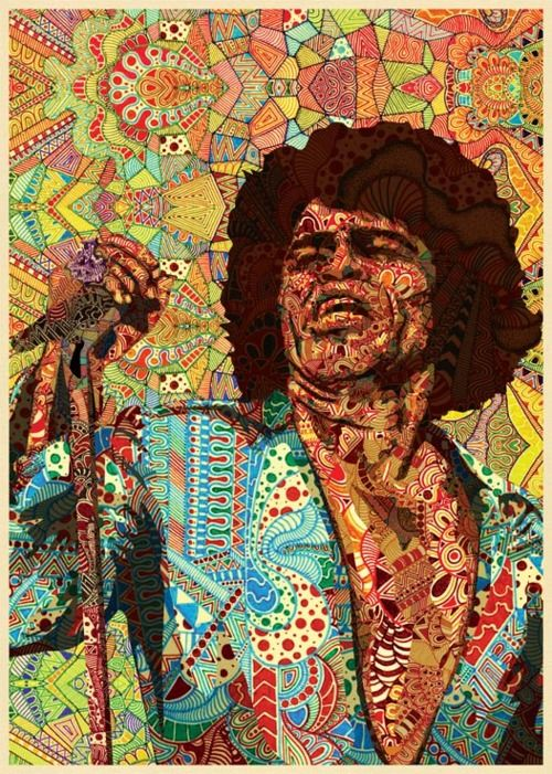 Mr James Brown All these illustrations are the amazing work of Luís Alves, an illustrator and graphic designer based in Lisbon, Portugal. You can follow his work in http://urban-myth.tumblr.com or http://www.behance.net/UrbanMyth