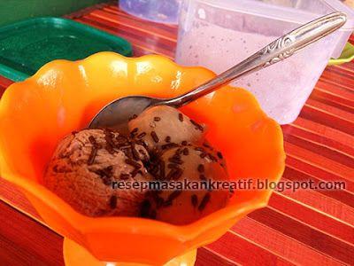 Resep Membuat Es Krim Rumahan Sederhana Lembut