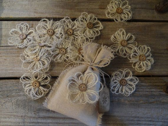 Shabby Chic Wedding favors | Wedding Favor Bags Shabby Chic Country Wedding Bridal Shower Gifts ...