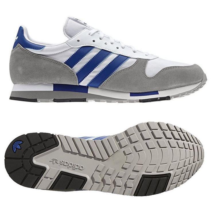 adidas ORIGINALS MENS CENTAUR TRAINERS WHITE BLUE 7 8 9 10 11 12 SHOES  REDUCED #