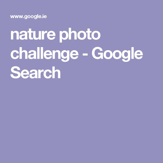 nature photo challenge - Google Search