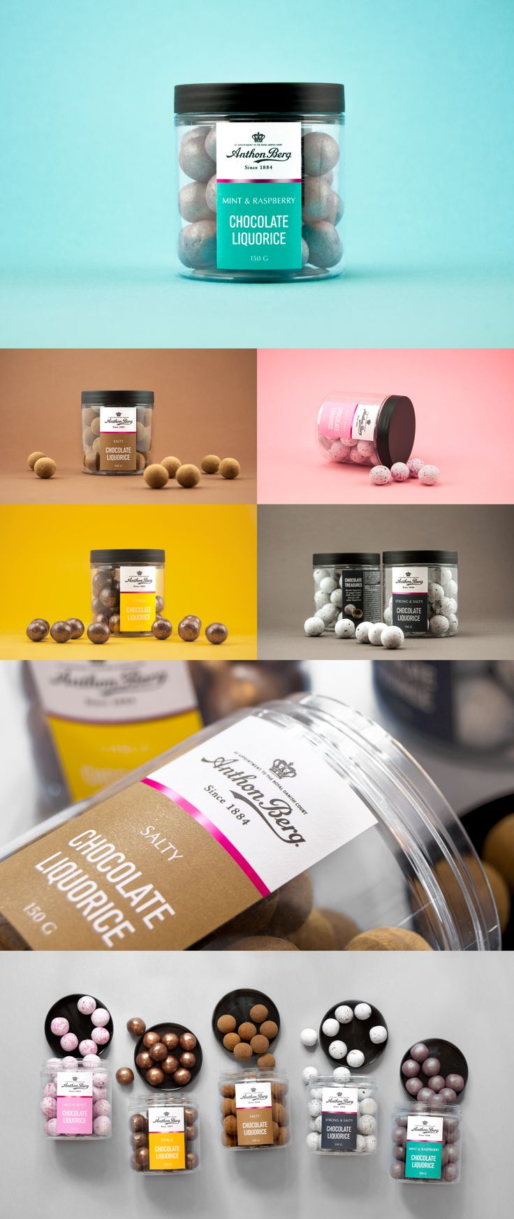 Anthon Berg - Chocolate Treasures on Behance